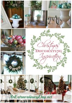 AnExtraordinaryDay.net {Preparing for Christmas} Decorating Inspiration