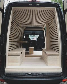 The Ryovan Project Japanese Teahouse Inspired Van Conversion 004 Van Conversion Interior, Camper Van Conversion Diy, Van Interior, Camper Interior, Day Van Conversion, Luxury Campers, Build A Camper Van, Vw Camping, Minivan Camping