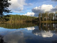 Keihäslampi, Hossa, Suomussalmi, Finland. Photo: Mauri Kuorilehto (17.6.2015).