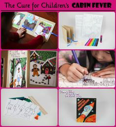 Top Ways to Cure Your #Kids Cabin Fever #Winter Blues! #crafts  www.mommylivingthelifeofriley.com