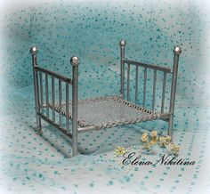 HandMade ElenaNikitina: Bed.: Instructions are included, and there is so much more on this site. Just an amazing talented and creative woman.