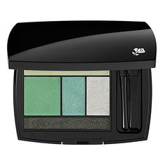 All Eyes on #Emerald: Lancôme Color Design 5 Shadow & Liner Palette #Sephora #SephoraPantone #ColoroftheYear yay emerald! Need to go!