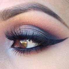 Smokey Eyeshadow for Brown Eyes.