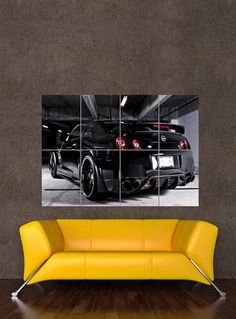 Imagine this cool Nissan GT-R canvas hanging on your wall. It would look great eh? Click on the image to bid for it today! #ebay #spon