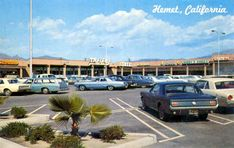 Postcard of Hemet, California about Shopping Center, northeast corner of Florida Ave and San Jacinto St. San Jacinto, Mall Of America, Shopping Malls, Shopping Center, Historical Photos, Google Images, Vintage Photos, The Neighbourhood, Old Things