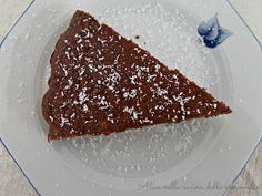 Torta al cacao e cocco, ricetta dolce vegano (senza uova e senza grassi aggiunti)