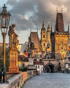 Beautiful Places To Travel, Beautiful World, Prague Charles Bridge, Prague Photography, Prague Travel, Prague Czech Republic, Places To See, Scenery, Around The Worlds