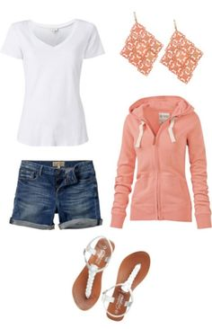 150 pretty casual shorts summer outfit combinations (94)
