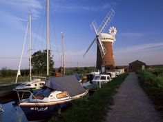 size: Photographic Print: Horsey Windmill, Norfolk Broads Poster by Charcrit Boonsom : Artists Norfolk Broads, Norfolk England, Norfolk Coast, Le Moulin, Photographic Prints, Poster Size Prints, Photo Mugs, About Uk, United Kingdom