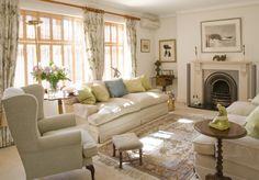 Comfortable English Living Room