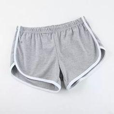 Nuevo 2016 Deporte de Algodón Para Mujer Caliente Pantalones Cortos de Fitness Moda Sexy Girl Corto Feminino Vintage Casual Basculador Pantalones de Las Mujeres 9 Colores en Pantalones cortos de Ropa y Accesorios de las mujeres en AliExpress.com | Alibaba Group