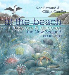 At the Beach - Hardback - Ned Barraud & Gillian Candler - Little & Loved