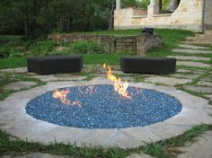 The Experts of Fireplace & Fire Pit Glass, Fire Rocks and Fire Tables