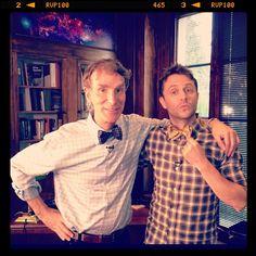 Bill Nye and Chris Hardwick!