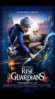 Rise of the Gaurdians!!! Amazing movie i loved it x