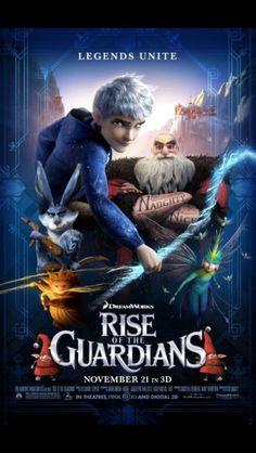 Rise of the Gaurdians!!! Amazing movie i loved it x