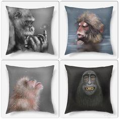 Мои обезьянки уже на подушках, чехольчиках и сумках в магазине @pinkbusstore!  Они очень ждут своих хозяев и готовы приносить удачу весь год и даже не один!) А какая обезьянка вам нравится больше?✨#Инзижен #Inzigen #print #принт #обезьяна #animal #animals #животные #яркий #арт #art #artist #myart #procreate #procreateapp #ipadart #ipaddraw #бабуин #скороновыйгод #символгода #2016 #gorilla #горилла #подушка #подушки #декор #дизайн #sweethome #monkey #pinkbusstore