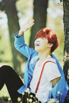 B A N G T A N | Jimin | BTS Now 3 Dreaming Days | Scans by Sam #BTS Jimin looks like a FRICKEN fallen angel