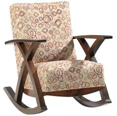 Solid Wood Amish Handcrafted Millennia Rocker #cabinfield