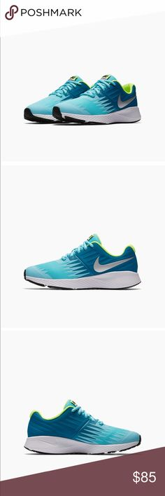 💎NEW💎 Nike Women's Star Runner ♦️New Nike with box ♦️Y6 is a women's 7.5  ♦️No trades  ♦️Open to reasonable offers  ♦️100% authentic  ♦️Pricing will not be discussed in the comments. If interested please use the offer button. Nike Shoes Athletic Shoes