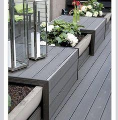 Check out this fantastic Garden Bench Front Yard Ideas 3911154447 … – Garden Design ideas - How to Make Gardening Deck Bench Seating, Garden Seating, Garden Benches, Seating Areas, Extra Seating, Outdoor Seating, Shed Landscaping, Planter Bench, Planter Ideas
