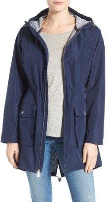 Shop Now - >  https://api.shopstyle.com/action/apiVisitRetailer?id=630712124&pid=uid6996-25233114-59 Women's Michael Michael Kors Hooded Raincoat  ...