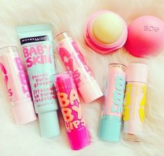 Baby Lips Baby Skin and EOS