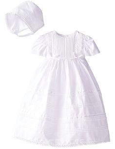 0a8471cfa8 Taffy Baby Christening Baptism 3D Flower Dress Gown 6 Piece Deluxe Set 0-3  Months