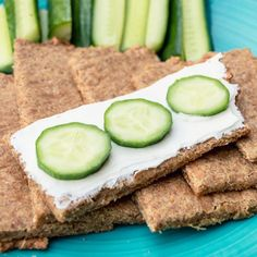 Easy Low Carb And Keto Flaxseed, And Cheddar Crackers/Knäckebrot Low Fodmap, Low Carb Keto, Cheddar, Avocado Toast, Crackers, Paleo, Gluten Free, Vegetables, Breakfast