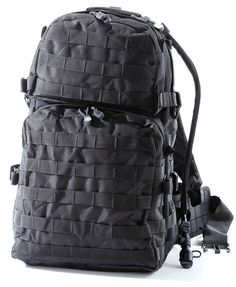 Large US Military Army Style Hip Backpack by Monkey Paks with 2.5L Water Bladder System. #monkeypaks