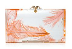 Charlotte Olympia Pandora Feather Clutch. only $1,000 why not?!