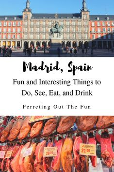 Wondering what to do in Madrid? Here are some interesting things to do to help you get started. // #traveltips #Madrid #Spain #Europe
