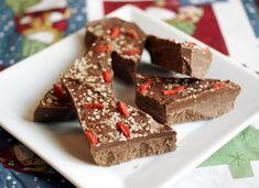 Candida diet, sugar-free, gluten free, dairy free, egg free, nut free, vegan Chocolate-Peppermint Bark | Diet, Dessert and Dogs