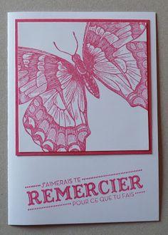 """Béa et ses petits papiers: carte """"swallowtail"""""""