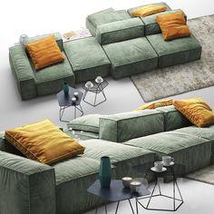 Living Room Sofa, Home Living Room, Living Room Designs, Living Room Furniture, Living Room Decor, Sofa Set Designs, Sofa Design, Interior Design, Sofa Furniture