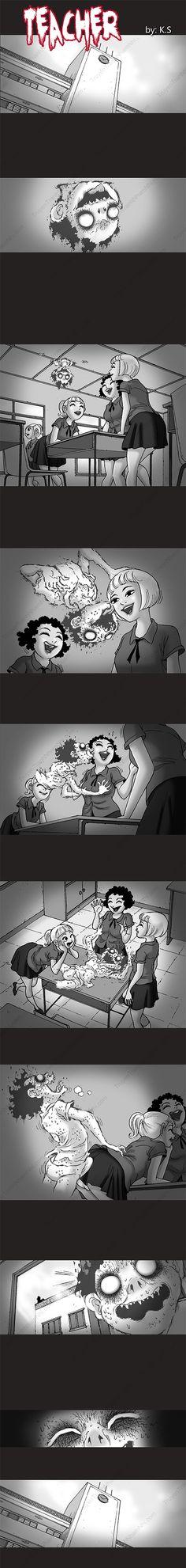 Silent Horror chap 239: Học trò ma