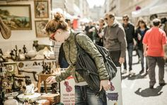 The most famous flea market in Paris is the one at Porte de Clignancourt, officially called Les Puces de Saint-Ouen, but known to everyone as Les Puces (The Fleas). Every Saturday from - Every Sunday from to Every Monday from de to Paris Travel, France Travel, Euro Travel, Travel Tips, Peugeot 404, Hotel Des Invalides, Paris Shopping, Shopping Travel, Saint Ouen