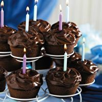 Chocolate-Chocolate Cupcakes by SPLENDA®