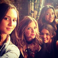 Troian,Ashley,Lucy, and Shay