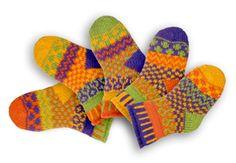 Kid's Novelty Socks Kids Socks Kids socks to bring out their imagination. Solmate Socks, Lost Socks, Kids Socks, Knitting For Kids, Knitting Socks, Mitten Gloves, Mittens, Matching Socks, Recycled Yarn