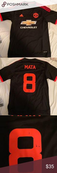 bdaf2db2725 Adidas Manchester United Third Jersey Medium Juan Mata 2015-2016 Manchester  United Third Jersey.