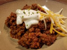 Keto thick chili with beef and bacon; no beans; low-carb