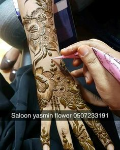 Ideas Baby Food Design For 2019 Latest Henna Designs, Arabic Henna Designs, Indian Mehndi Designs, Modern Mehndi Designs, Bridal Henna Designs, Mehndi Designs For Fingers, Latest Mehndi Designs, Henna Tattoo Designs, Arabic Mehndi