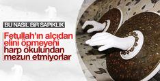 Gizli bir odası ortaya çıkarılan FETÖ'ye ait İzmir'deki okulda Fethullah Gülen'in elinin alçıdan bir modeli de bulundu.