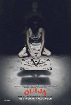 Ouija board is another great, suspenseful, frightening film. Me and my cousin (he's 15) watched the film and it was funny when he jumped at some of the jumps scares, hahaha) it's not to scary though