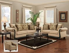 Having small living room can be one of all your problem about decoration home. To solve that, you will create the illusion of a larger space and painting your small living room with bright colors c… Design Living Room, Living Room Furniture Layout, Living Room Colors, Living Room Sets, Living Room Interior, Living Room Decor, Rustic Furniture, Antique Furniture, Contemporary Furniture