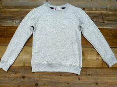 Grey Marl Sweatshirt www.fieldlife.co.uk