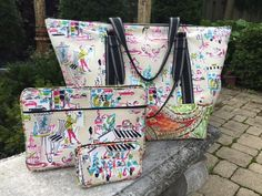 Fabulous Free Pattern Friday/Toiletry and Lipstick Bag
