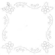 Image result for gratis patronen kaarten borduren