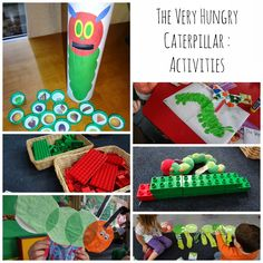 The first post in a whole series of dedicated posts about activities to go with favourite picture book stories.   As The Very Hungry Caterpi...